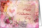 Romantic Happy Valentine's card