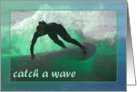 Catch a Wave Birthday card