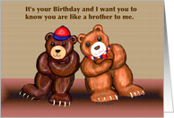 Bear birthday gay