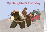 Teddy Bear Wagon Birthday for Daughter