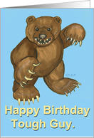 Tough Bear Birthday