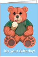 Ice Cream Teddy Bear Birthday