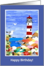 Lighthouse Father&rsquo;s Day Card