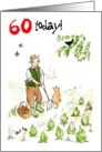 &rsquo;60 today&rsquo; Birthday Card