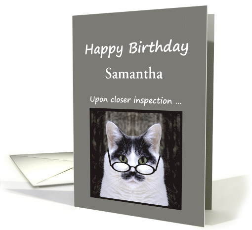 CAT LOVERS BIRTHDAY Cards