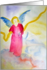 Guardian Angel-welcome new baby card