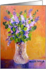 Lilacs Painting card