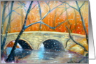 Wissahickon Winter - Season's Greetings card