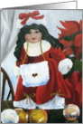 Christmas Doll - Christmas Card