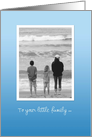 Mother's Day Beach - Mom and Kids on the shore card