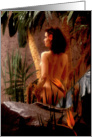 Naked Woman in Jungle card