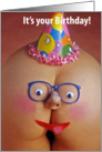 Butt Face - Happy Birthday card