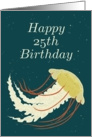 Happy 25th Birthday / Jellyfish card