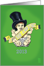 Baby New Year 2013 card