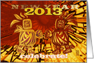 Celebrate 2013 New Year, Be Happy the Mayans Were Wrong , (simple red) card