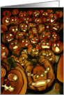 Pumpkins Coming To Get You card