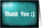 Thank You - digital card