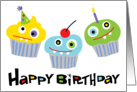 Party with the Cupcake Friends card