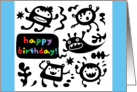 The Happy Birthday Gang card