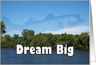 Dream Big ~ Fish ~ Blank card