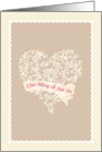 Vietnamese Valentine's day Ch�c Mừng Lễ T�nh Y�u, heart & flowers card