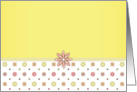 Pink and Yellow Flowers for Any Occasion card