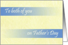 Thumbnail image forFather's Day To Both Dads