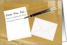 Thumbnail image forDear Pen Pal - Elegant Writing Desk