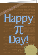 Happy Pi Day! card