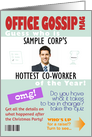 Office Gossip Magazine for April Fools' - Custom Photo card