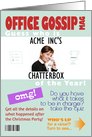 Thumbnail image forOffice Gossip Magazine for Birthday Humor- Custom Photo