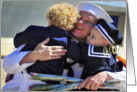 Welcome Home - Navy Homecoming card