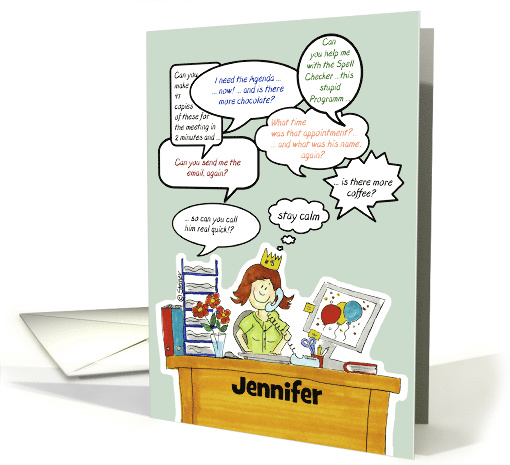 ... Card Ideas: Humorous Cards for Administrative Professionals Day