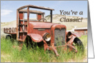 Birthday - Adult Male - Antique Truck card