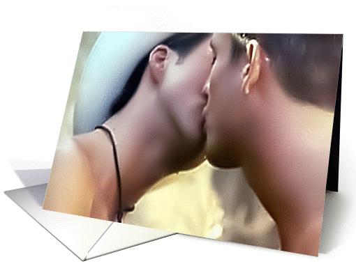 Cowboy Kiss card