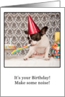 Birthday, French Bulldog Humor card