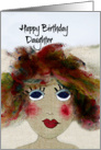 Happy Birthday Daughter, Whimsical and Fun card