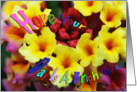 Lantana Hope Your Day I a Bright One Encouragement Card