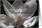 Tree Lilly Be My Bridesmaid Card