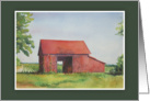 Red Barn, Cutchogue, NY card