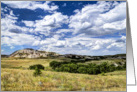 Buttes on the Dakota Prairie - all occasion - note card