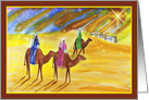 Christmas with the Three Wise Men card