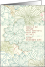 Happy Mother's Day for Wife Beautiful Flower Pretty Botanical card