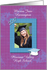 Graduation Announcement 2013 Photo Card Customize Name and School card