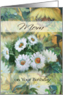Daisies & Sunflowers, Birthday for MOM card