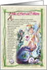 Mermaid Folklore card