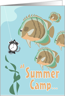 Reel Good Time - Summer Camp card