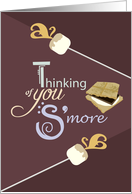 Thinking of You S'more card