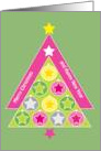 Christmas Tree, Pinkand Green card