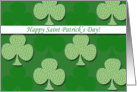 Happy Saint Patrick's Day card